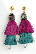 Dobule Tassel Earrings