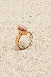 Copper Rhodochrosite Ring
