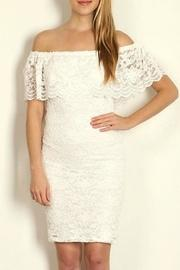 Lace Offshoulder Dress