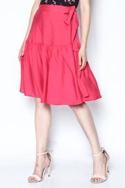 Fuschia Wrap Skirt