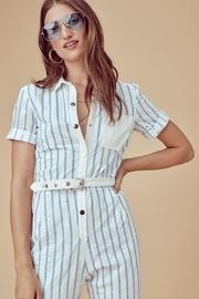 Hermosa Striped Jumpsuit