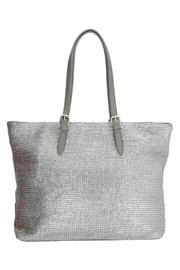 Woven Metallic Handbags