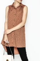 Dotted Tunic Dress