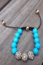Pave Ball Bracelet