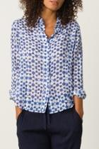 Printed Fitted Shirt