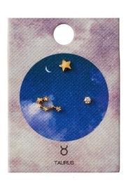 Taurus Zodiac Studs