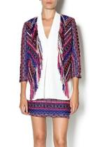 Fringe Tweed Jacket