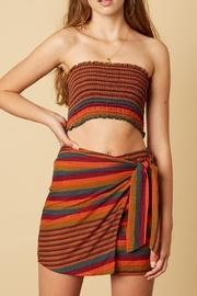 Colorful Wrapped Skirt