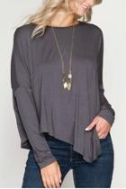 Longsleeve Asymmetrical Top