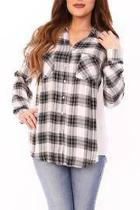 Plaid Panel Shirt