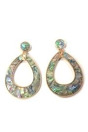 Abalone Tear-drop Earrings