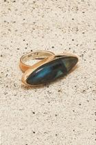Copper Labradorite Ring