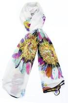 Colorful Daisy Scarf