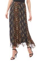 Chiffon Panel Skirt
