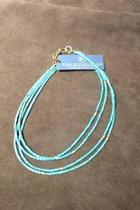 Double Turquoise Necklace