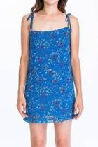 Blue Rosebud Dress