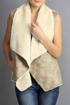 Furry Pocket Vest