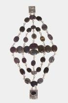 Amethyst Spiderweb Bracelet