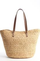 French Straw Tote