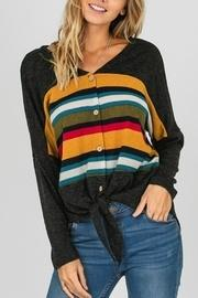 Striped Color Top