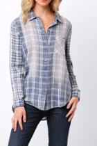 Faded Plaid Shirt