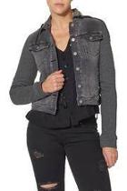 Knit Hooded Jacket