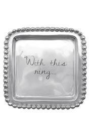 Engraved Ring Dish