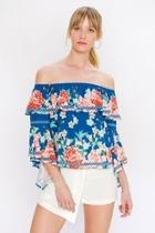 Ruffle Offshoulder Top