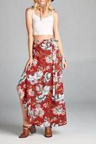 Alexis Floral Maxi Skirt
