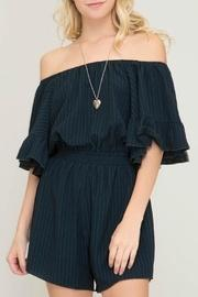 Darcy Off-the-shoulder Romper