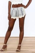 Crochet Knit Shorts