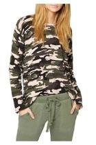 Trixie Camo Sweater