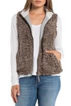 Pine Faux-fur Vest