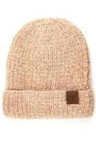 Taupe Chenille Beanie