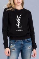 Ysl Crewneck Sweater