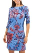 Boatneck Easy Dress