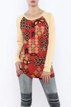 Honeycomb Long Sleeve Shirt