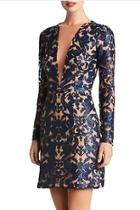 Plunging Sequin Dress