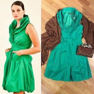 Freesia Green Dress