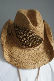 Amber Rhinestone Cowgirl-hat