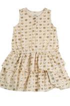 Cream Layer Dress