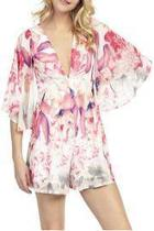 Floral Butterfly Playsuit