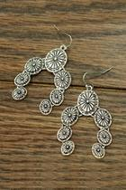 Squash-blossom Concho Earrings