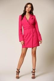 Fuschia Mini Dress