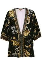 Floral Velvet Tunic