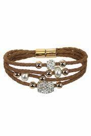 Tan Bling Bracelet