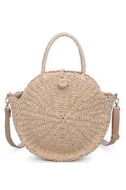 Del Mar Straw Crossbody