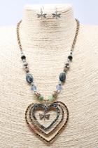 Abigail Cross Necklace-set