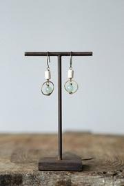 Copper/agate Benevolence Earring