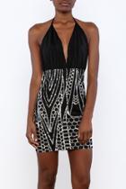 Honeycomb Sequin Dress